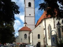 Děkanský kostel trhy
