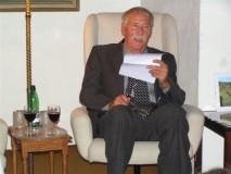 Zdeněk Janík v Mahenově knihovně v Brně