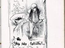 M. Aleš: Ilustrace k národní písni Sirotek