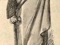 Mikoláš Aleš. Student v Písku 1860.